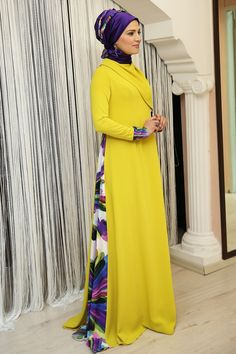 Renklerevi Tesettür Giyim ~ Oksit Abaya Elbise
