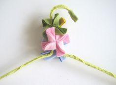 DIY Wrapped Hanger | Heartmade Blog