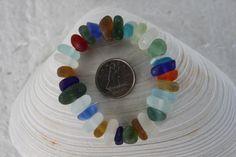 AWESOME BEACH GLASS Center Drilled Babies by BEACHGLASSSWEPTASHOR, $22.50