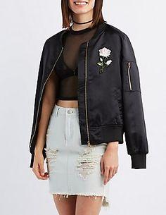 Women's Outerwear: Blazers, Jackets & Vests  Charlotte Russe