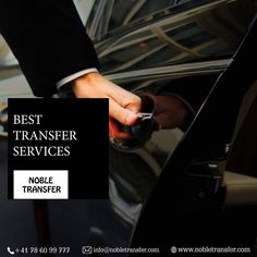 Arrive on time for every meeting and that too in style. Hire Noble Transfers' elite airport transfer services to reach your destination comfortably. Business Class, Basel, Zurich, Geneva, Taxi, Switzerland, Transportation, Style, Swag