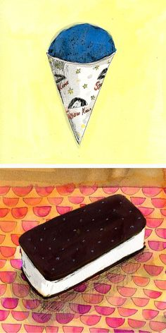 Fun food illustrations