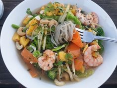 Prawn and mango cold Asian soup Ballymaloe Cookery School, Cold Noodles, Asian Soup, Lettuce Leaves, Private Chef, Restaurant Kitchen, Noodle Soup, Prawn, Confectionery