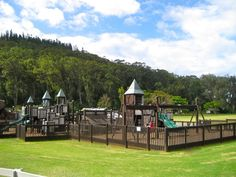 Go to Giggle Hill in Haiku, Maui - and they have an awesome playground there too!