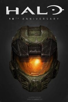 In honor of Halo: Combat Evolved Anniversarybeing released today, Sam Spratt put his awesome style into the legendary Master Chief.