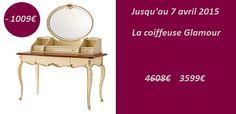 Coiffeuse avec miroir on pinterest miroir ikea vanities and hemnes - Tabouret coiffeuse ikea ...