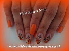 Wild Rose's Nails: Evrything Is Orange