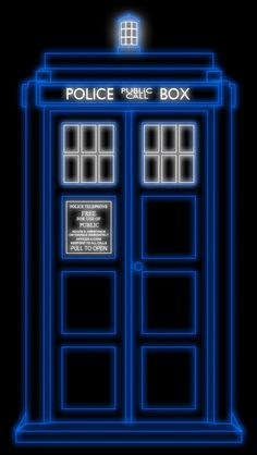 Tardis iPhone 5 Wallpaper (640x1136)