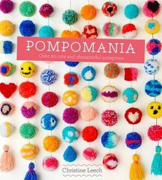 Why have a plain coloured pompom when you could have a tiny panda or a watermelon slice pompom?