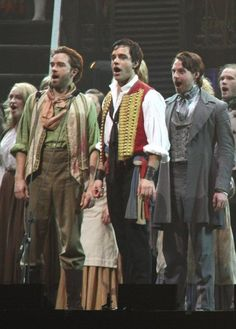 Les Miserables - Ramin Karimilo and Hadley Fraiser  Love them :)