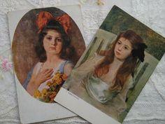 Brown Hair, Little Girls, Flowers, Painting, Ebay, Art, Brown Scene Hair, Art Background, Toddler Girls