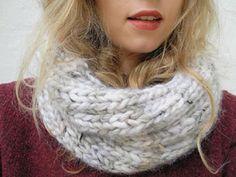 Tutorial fai da te: Come fare una  sciarpa scaldacollo in lana via DaWanda.com