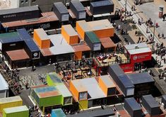 shipping container mall | Shipping containers replace Cashel Mall in Christchurch NZ after ...