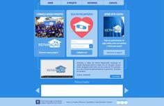 Criação e desenvolvimento layout para site repação pela empresa metamorfose digital. Site: http://reparacao.org.br/