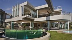 One More Glamourous Architecture Display in South Africa: Glass Space , Glass House is an imposing residence designed by studio Nico Van Der Meulen Architects and located in Johannesburg, South Africa. The owners wanted a glamorous home, filled with light and strongly connected to its environment. With a total floor area of 2 , Admin ,...