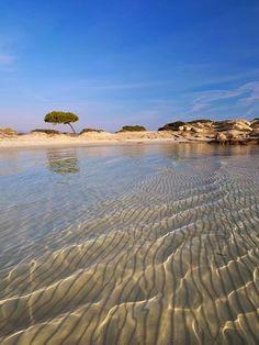 Beautiful Beaches Around The World -Karidi Beach, Greece..