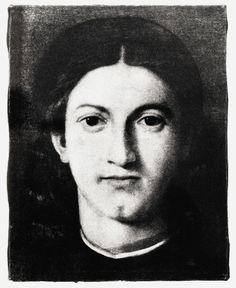 paolini giulio Giovane che guarda Lorenzo Lotto
