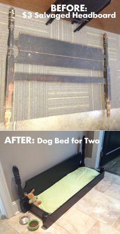 From Headboard to Dog Bed
