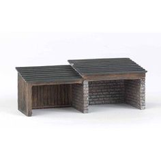 Bachmann Trains Thomas and Friends Storage Shed Resin Building Scenery Item, HO Scale, Multicolor
