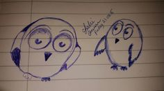 The owls My Drawings, Owls, Home Decor, Decoration Home, Room Decor, Owl, Tawny Owl, Interior Decorating