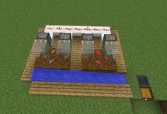 Automatic Mushroom Farm - GrabCraft - Your number one source for MineCraft buildings, blueprints, tips, ideas, floorplans!