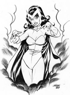 Scarlet Witch - Dave Johnson