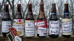 Homemade Valentines Day Gifts For Him   Beer Gift For Valentines Day