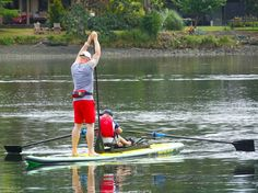 Rowing an SUP for Fitness and Fun! Oar Board® Rower and inflatable SUP, Whitehall Rowing and Sail
