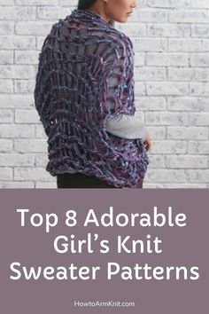 Look at these Top 8 Adorable Girl's Knit Sweater Patterns! These Sweaters are so adorable and this is so fun and easy to do! This artcle has many cute Knit Sweater Patterns that you will enjoy. have fun making your Knitted Sweaters today!!! #Top8AdorableGirl'sKnitSweaterPatterns #AdorableGirlsknitsweaters #Sweaters #KintPatterns #KnittedSweaters #Knit #Patterns