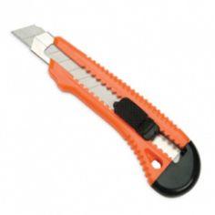 Barkácskés [sniccer] fémbetétes nagy, visszahúzható, 18 mm széles pengével Eagle TY519 - Snitzer - 199Ft - Sorjázó kés - Sniccer