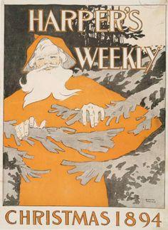 Harper's Weekly, Christmas 1894.