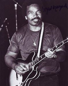 """Matt """"Guitar"""" Murphy (b 1929) American blues guitarist, has played with Howlin' Wolf, Ike Turner, Muddy Waters, Otis Rush, Etta James, Sonny Boy Williamson II, Chuck Berry and The Blues Brothers band, and acted in The Blues Brothers films (1980, 2000). While performing in Nashville in 2003, he suffered a stroke on stage but finished his set performing with one hand!"""