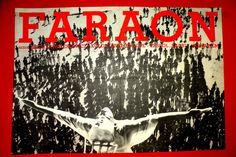 PHARAOH RAMSES1966 KAWALEROWICZ JERZY ZELNIK B.BRYLSKA UNIQUE EXYU MOVIE POSTER