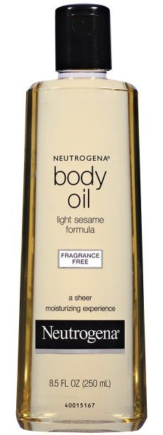 Love this stuff along with the body wash.  Makes the skin feel heavenly.  Neutrogena Sesame Body Oil