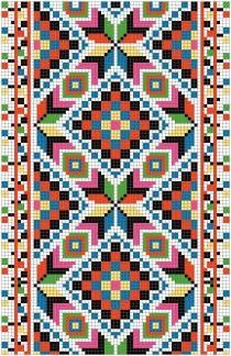 Українська вишивка, безкоштовна схема 47