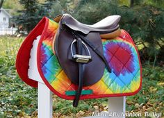 MADE TO ORDER Miscellaneous Prints Dressage or Close Contact Saddle Pad Many Prints
