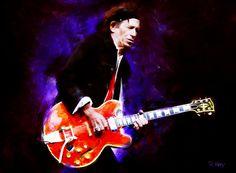 Corel Painter, Art Rage, Adobe Photoshop Keith Richards of the Rolling Stones Corel Painter, Keith Richards, Rolling Stones, Painting & Drawing, Digital Art, Photoshop, Deviantart, Drawings, Artwork