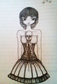 Own dress design by ShiroAnnie