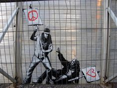 106 Awesome Banksy Graffiti Drawings