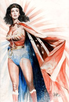 Lynda Carter is the one and only true Wonder Woman