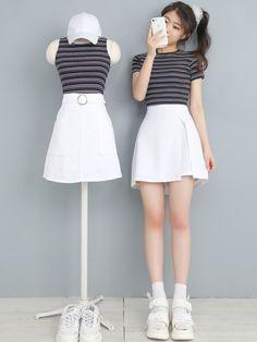 Fashion Tips Plus Size .Fashion Tips Plus Size Korean Girl Fashion, Korean Street Fashion, Ulzzang Fashion, Asian Fashion, Womens Fashion, Style Fashion, Kpop Fashion Outfits, Korean Outfits, Girl Outfits