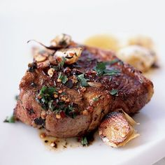 Las Pedroñeras, in the Castilla–La Mancha region, is considered the garlic capital of Spain. These juicy, meaty lamb chops sizzled in extra-virgin ...