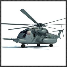 Sikorsky CH-53 Sea Stallion Helicopter Free Aircraft Paper Model Download - http://www.papercraftsquare.com/sikorsky-ch-53-sea-stallion-helicopter-free-aircraft-paper-model-download.html
