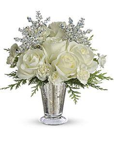 Winter Flower Arrangements, Christmas Arrangements, Christmas Centerpieces, Floral Arrangements, Christmas Decorations, Table Arrangements, Rose Centerpieces, Stage Decorations, Centrepieces