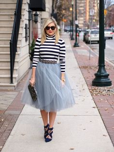 Grey tulle skirt 5 layered Tulle Skirt  by MyBarkatVilla on Etsy-$89.99+-Assorted Colors