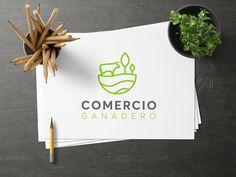 Diseño de Logo para Comercio ganadero Sketch, Design Web, Logos, Creativity, Blue Prints