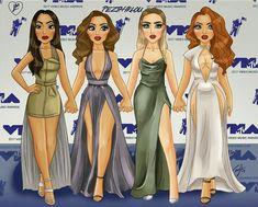 Little Mix Little Mix Outfits, Little Mix Girls, Social Media Art, Litte Mix, Ariana Grande Drawings, Bff Drawings, Stage Outfits, Concert Outfits, Jesy Nelson