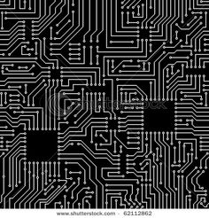 Find Seamless Pattern Computer Circuit Board stock images in HD and millions of other royalty-free stock photos, illustrations and vectors in the Shutterstock collection. Textures Patterns, Print Patterns, Circuit Board Design, Illustration Design Graphique, Repeating Patterns, Computer, Graphic Design Inspiration, Game Design, Art Boards
