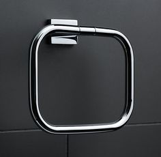 restoration hardware modern towel ring