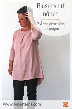 Blusenshirt nähen - schlicht und elegant Do you want to sew a blouse? You are looking for a pattern that is easy and quick to sew and combines all the advantages of a blouse. Take a look at the many s